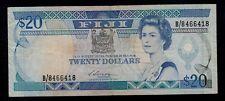 FIJI  20 DOLLARS ( 1988 )   PICK # 88  F-VF.