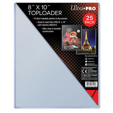 10 Loose Ultra Pro 8 x 10 Photo Topload Holders Fits Sleeved Photos #81146