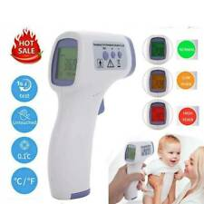 LCD Temperature Meter Non-Contact Infrared Forehead Thermometer Fever Check