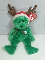 TY Beanie Baby Christmas Bundle 2002 Holiday Reindeer December 20th 2001