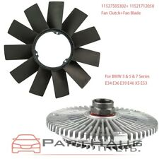 Engine Fan Clutch + Fan Blade Kit for BMW E36 E46 E53 E34 E32 E39 323 325 330 X5