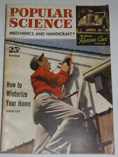 Popular Science Magazine How To Winterize Your Home October 1951 120514R