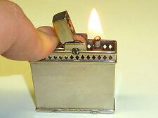 "RONSON ""DEBONAIR"" AUTOMATIC PETROL LIGHTER - 1933 - EXTREMELY RARE - U.S.A."