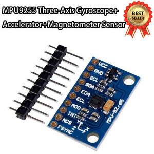 1PCS MPU-9255 Sensor Module Three-axis Gyroscope Accelerometer Magnetic Field