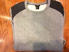 H&M gray crew neck sweatshirt size Medium