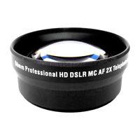 2x Tele Converter Lens for Olympus E-1 E300 E330 E500 E510