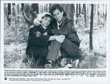 1988 Actor Parker Stevenson Ashley Crowe Wearing Sneakers Probe TV Press Photo