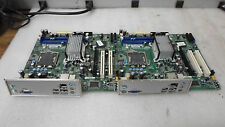 LOT OF 2 - Intel DG41RQ E54511-205 Motherboard w/ I/O Shield