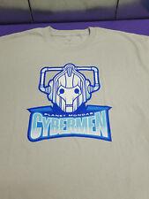 DW Doctor Who Planet Mondas CYBERMEN sports team T-Shirt Large New by Tee Fury