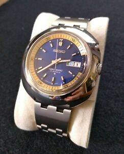 VINTAGE SEIKO UFO BELL 4006-6002. 4006A, BELL-MATIC, GREAT CONDITION, CIRCA 1971