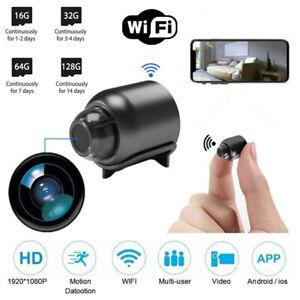 Mini 1080P Hidden Spy Camera HD Micro Wireless Night Vision Home Security Cam
