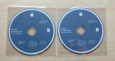 "2 x Apple Macbook Pro 15"" Snow Leopard 10.6.3 Install & Applications DVDs"