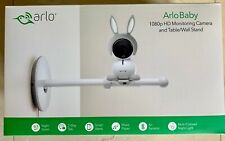 Arlo Baby 1080p HD Wifi Smart Monitoring Camera with Table/Wall Stand