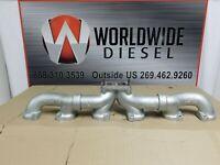 Detroit Series 60 12.7L Exhaust Manifold, Parts # 23511221