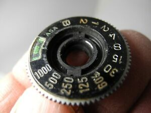 CANON  AE-1 Shutter Speed Dial - OEM WITH RETAING WASHERS PERFECT REPLACEMET