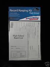 Homeschool Record Keeping Kit, High School 4 Report Cards / 1 Cumulative Folder
