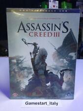 ASSASSIN'S CREED 3 III GUIDA STRATEGICA UFFICIALE PS3 - 360 - PC NUOVA ITA NEW