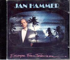 JAN HAMMER - Escape From Television GERMAN 1st PRESS DMCF3407 CD1987 VGC+