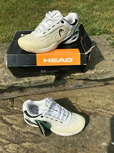 HEAD Dream Women Pro Tennis Shoes Size UK 4 - New with Box! Wht/Blk trainer