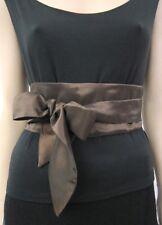 Setenga OBI Wrap-Cintura Cintura Marrone per sera moda O. per abito da sera