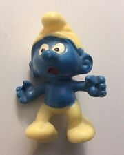 Vintage SMURF STILT-Walker /Stelzenschlumpf With Stilts!1983 Original Peyo Germa