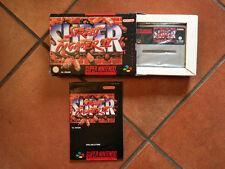 Super Street Fighter II PAL per Super Nintendo