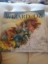 The Wizard Of Oz Adult Coloring Story Book NEW VERY NICE LOOK