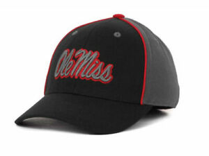 Ole Miss Rebels Top of the World NCAA Buzzer Beater Flex Fit Cap Hat M/L