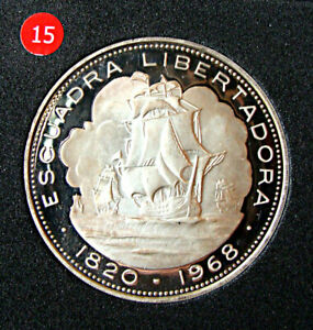 CHILE, 10 PESOS 1968, ESCUADRA LIBERTADORA, KM # 183, IN SUPERB CONDITION, # 15