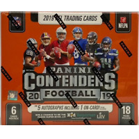 2019 CONTENDERS FOOTBALL FACTORY SEALED HOBBY BOX IN STOCK FREE SHIPPING