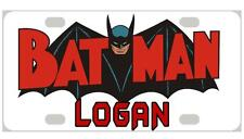 BATMAN #2 MINI LICENSE PLATE Any Name Personalized for Kids Bicycles Wagons more