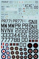 Xtradecal 1/72 Hawker Tempest Mk.II and Mk.V # 72094