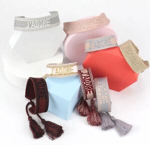 Bracelet Fait Main Tressé Vintage Amitié Cadeau Modèle 5 Coloris Brésilien