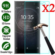 2X Tempered Glass Screen Protector For Sony Xperia XZ3 XA1 XA2 Ultra XZ2 Compact