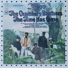 """1967 press Columbia CS 9522 AfroSike The CHAMBERS BROTHERS: """"The Time Has Come"""""""