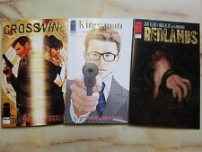 REDLANDS KINGSMAN THE RED DIAMOND CROSSWIND #1 GOLD FOIL RETAILER VARIANTS LOT