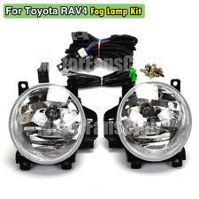 Fog Lamp Light Kit For Toyota RAV4 Wiring Relay Harness + Switch 2013 2014 2015