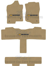 LLOYD Classic Loop™ 4pc Tan FLOOR MAT SET logos on 3 mats 2007-2010 Chevy TAHOE