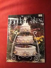 WILTON BRIDAL CAKES BOOK CAKE DECORATING