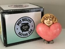 Harmony Kingdom Pot Bellys Figurine Buffy Nude Girl w Heart Rose Valentine Nib!