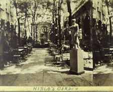 1860 Niblo's Garden Morning After Japanese Embassy Ball NY E. Anthony Stereoview