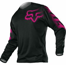 Fox Racing Girls YOUTH BLACKOUT Jersey Black Pink MX ATV Riding Off Road 12451