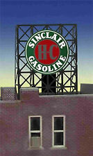 "SINCLAIR GASOLINE ANIMATED ROOFTOP SIGN by MILLER ENGR-N & Z SCALE-0.85"" DIAMTR"