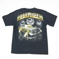 Lowrider Car T-Shirt Faded Black size SMALL