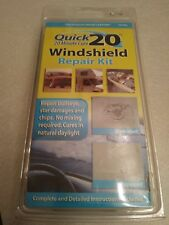 Quick 20 Windshield Repair Kit