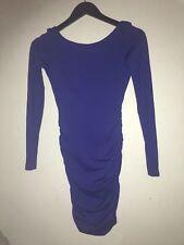 Kookai HYPE Dress Size 1 WINDSOR PURPLE Colour  BNWT Free Post (F12) STRETCH