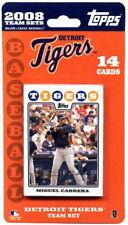 2008 Detroit Tigers Topps team bulk set of 14 cards Cabrera Verlander Ordonez