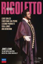 Pavarotti/Quilico/Eda-Pierre/+ - Verdi: Rigoletto DVD NUOVO verdi, Giuseppe