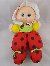 """Playskool My Little Ladybug Doll 5192 1997 12"""" Stuffed Animal"""