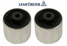 For Audi A4 A5 S5 Set of 2 Front Lower Control Arm Bushings Lemfoerder 2138301